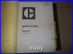 Caterpillar 428 Backhoe Loader Shop Repair Service Manual S/n 6tc00001-up
