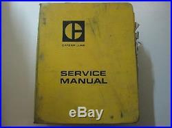 Caterpillar 657-666 Tractor Scrapers Service Shop Repair Manual BINDER CAT USED