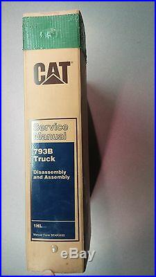 Caterpillar 793B Truck, Service Manual, Cat Serial# 1HL SENR5690
