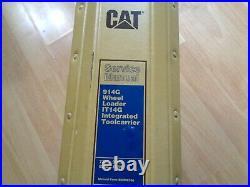 Caterpillar 914G Wheel Loader IT14G Toolcarrier factory service manual 7ZM-1WN