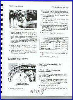 Caterpillar 931 Traxcavator Service Repair Manual SN 10N1 & Up 78U1 & Up
