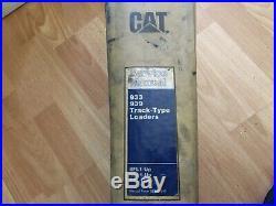 Caterpillar 933 939 Track Type Loaders factory service manual 8FL 9EL 9GL OEM