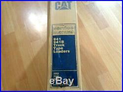 Caterpillar 941 941B Track Loader factory service manual OEM 16U 70H 80H