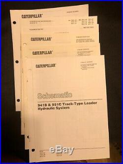 Caterpillar 941 941B Track Type Loader Service Manual 16U 70H 80H REG00527