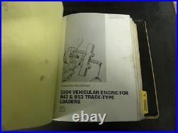 Caterpillar 943 953 Track Type Loaders Repair Service Manual