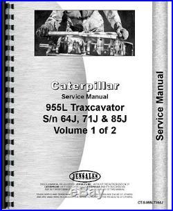 Caterpillar 955L Traxcavator Service Manual (CT-S-955LTX64J)