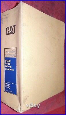 Caterpillar 966d 966e Wheel Loader Service Manual 35s1 94x1 99y1 Cat