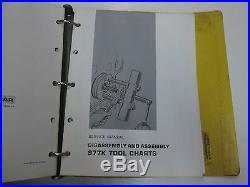 Caterpillar 977 Track Type Loader 11K 48J 70J Service Repair Shop Manual SET OEM