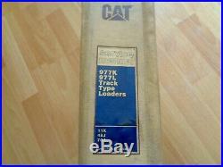Caterpillar 977K 977L Track Type Loaders factory service manual OEM 11K 48J 70J