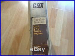 Caterpillar C-10 C-12 Truck Engine factory service manual 2KS 3CS OEM