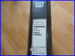 Caterpillar C-10 C-12 Truck Engines factory service manual CPD SRK 3CS 2KS oem