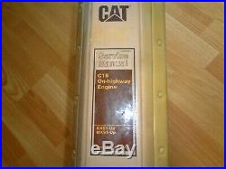 Caterpillar C-15 On Highway Engine factory service manual C15 BXS MXS UP OEM
