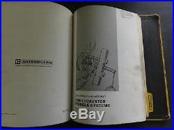 Caterpillar CAT 225 Excavator Service Manual 51U
