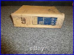 Caterpillar CAT 225D 229D 231D Hydraulic Excavator Shop Service Repair Manual