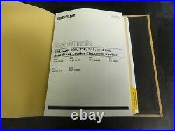 Caterpillar CAT 236 246 248 Skid Steer Loaders Service Manual