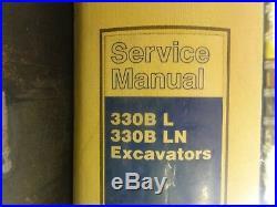 Caterpillar CAT 330B L 330B LN Excavators Repair Service Manual