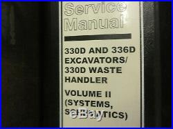 Caterpillar CAT 330D and 336D Excavators Repair Service Manual