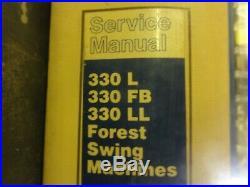 Caterpillar CAT 330L 330FB 330LL Forest Swing Machines Repair Service Manual