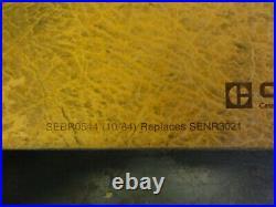 Caterpillar CAT 3406B Diesel Truck Engine Service Manual SEBR0544 7FB1-Up