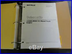 Caterpillar CAT 3406B (PEEC III) Diesel Truck Engine Repair Service Manual