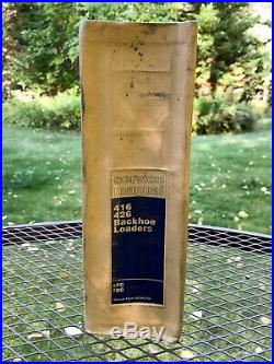 Caterpillar CAT / 416 426 Backhoe Loaders Service Manual / 5PC 7BC