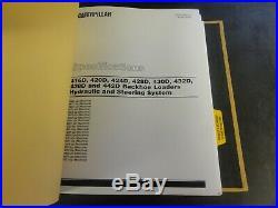 Caterpillar CAT 416D 420D 424D 428D 430D 432D 438D Backhoe Repair Service Manual