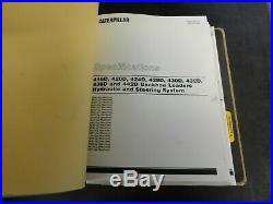 Caterpillar CAT 416D 420D 424D 428D 430D Backhoe Loader Repair Service Manual