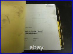 Caterpillar CAT 446 446B Backhoe Loaders Repair Service Manual