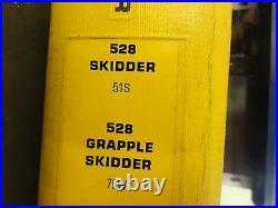 Caterpillar CAT 528 Skidder 528 Grapple Skidder Service Manual 51S