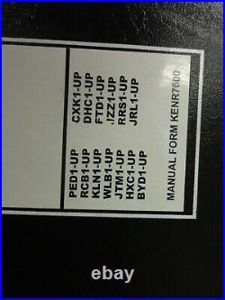 Caterpillar CAT 924H 924Hz 928Hz 930H Wheel Loaders Repair Service Manual