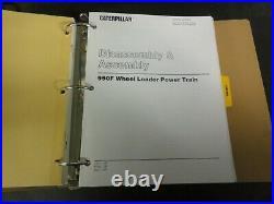 Caterpillar CAT 950F & 950F Series II Wheel Loader Repair Service Manual