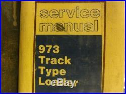 Caterpillar CAT 973 Track Type Loader Repair Service Manual