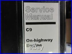 Caterpillar CAT C9 On-Highway Engine Repair Service Manual