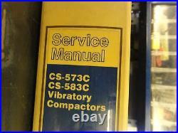 Caterpillar CAT CS-573C CS-583C Vibratory Compactor Service Manual 6LN 7MN 7NN
