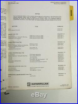 Caterpillar CAT D10 Tractor Service Manual 84W
