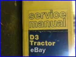 Caterpillar CAT D3 Tractor Repair Service Manual