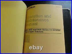 Caterpillar CAT D3C D4C D5C Series III Hystat Tractors Repair Service Manual