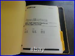 Caterpillar CAT D3C D4C D5C Series III Tractors Service Repair Manual