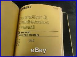 Caterpillar CAT D3C Tractor D3C Series II Tractor D3C Special Service Manual