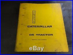 Caterpillar CAT D5 Tractor Special Application Service Manual