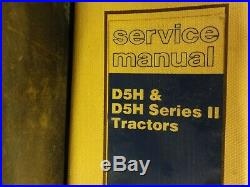 Caterpillar CAT D5H & D5H Series II Tractors Repair Service Manual