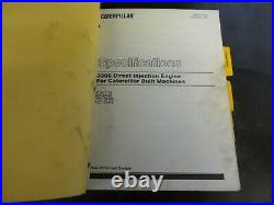 Caterpillar CAT D6H & D6H Series II Tractors Repair Service Manual