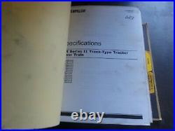 Caterpillar CAT D6R Series II Track Type Tractor Repair Service Manual