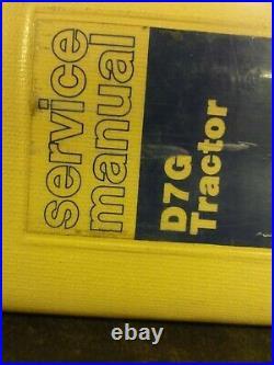 Caterpillar CAT D7G Tractor Repair Service Manual