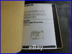 Caterpillar CAT E120B Excavator Repair Service Manual 6JF