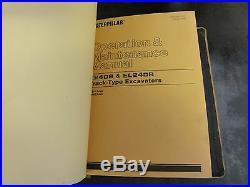 Caterpillar CAT E240B EL240B Excavators Repair Service Manual 8SF 5WG