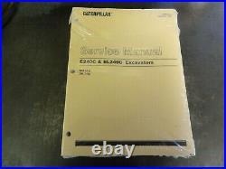 Caterpillar CAT E240C & EL240C Excavators Service Manual SENR6060