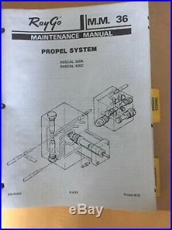 Caterpillar CAT RayGo Rascal 320A Vibratory Compactor Repair Service Manual Part