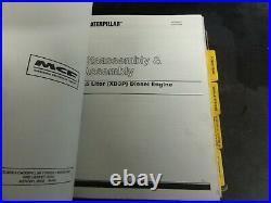 Caterpillar CAT T40D T40E T50D T50E TC60D TC60E V40D Forklift Service Manual