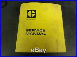 Caterpillar CAT TC25 TC30 Lift Trucks Forklift Repair Service Manual